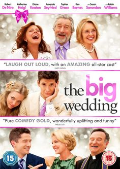 I finally have a DVD giveaway for the adults. How do you fancy winning a copy of The Big Wedding? The Big Wedding is out on DVD/Blu-ray October. With an all-star cast led by Robert De Niro, Ka… Robin Williams, Robert Niro, Wedding Guest Looks, Katherine Heigl, Susan Sarandon, Movies To Watch Online, Watch Movies, Ben Barnes, Diane Keaton