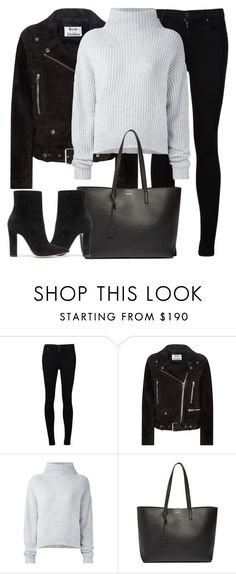 """Untitled #2968"" by elenaday on Polyvore featuring Citizens of Humanity, Acne Studios, Le Kasha, Yves Saint Laurent and Gianvito Rossi"