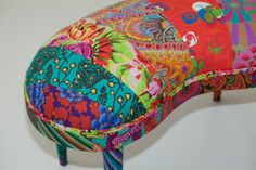 Banqueta patchwork contemporâneo by Ana Morelli Color Home Design