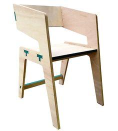 Tee Chair by Id+a, via Behance