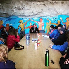 Conversation with Daoud Nassar, a Palestinian Christian farmer, at the Tent of Nations in the West Bank. #alightisrael