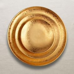 Alchimie Collection - Dinnerware - Gold at L'Objet.