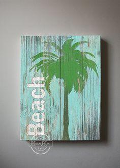 Beach Wall Art by MuralMax - tropical - artwork - Etsy