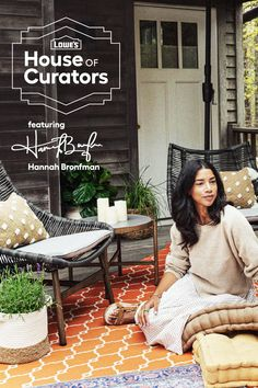 Lowe's House of Curators is helping you bring on-trend, expressive style home with two exclusive curations from Hannah Bronfman. Shop the looks now!