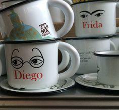 Hecho en México inspirado en frida kahlo y diego rivera