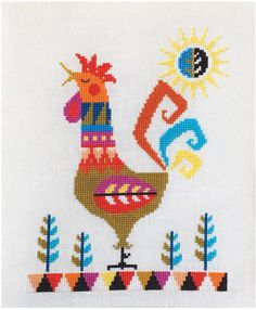 Roosters - Cross Stitch Patterns & Kits - 123Stitch.com