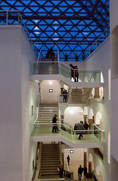 K21 Ständehaus, Düsseldorf, Stairs