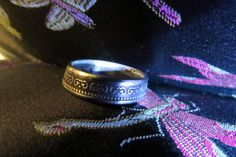 South Korea Coin Ring size 8 handcrafted by ZombieBearCreations