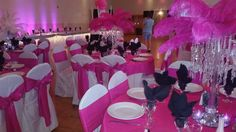 Decorate by design Casper Wyoming event planner old Hollywood themed wedding