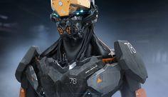 Robot by karelinnikolay | Sci-Fi | 3D | CGSociety