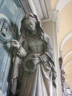 Particolare tomba Badaracco Foto di Irene C.