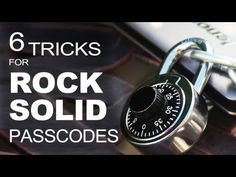 "6 ""Digital Life"" Hacks, for Strong & Secure Passwords! (video)"