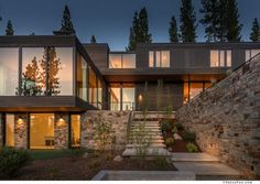 Blaze Makoid #Architecture have designed a single family #home as part of the Martis Camp developement in Truckee, California.