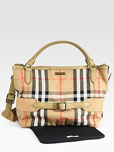 Burberry Aurelia Diaper Tote Bag - This is the best diaper bag!!!! You don't have to sacrifice style when you have a baby ;-). I get complements daily on this bag.