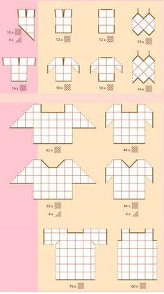 Patrón de blusa con Grannys