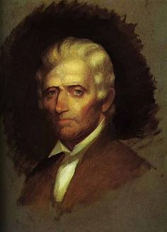Daniel Boone (1734-1820) was an American pioneer, frontiersman and explorer whose exploits made him one of the first folk heroes of the U.S.  He was a militia officer during the Revolutionary War, which in Kentucky was fought primarily between the American settlers and the British-aided Native Americans.  Boone was elected to the first of his three terms in the Virginia General Assembly during the Revolutionary War and fought in the Battle of Blue Licks.