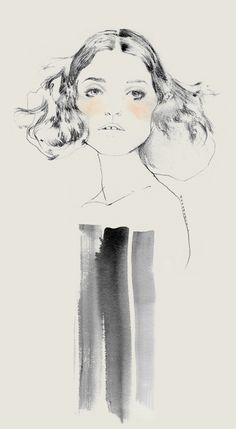 Bernadette Pascua  Fashion illustration