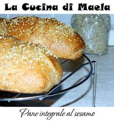 La cucina di Maela: Pane integrale al sesamo