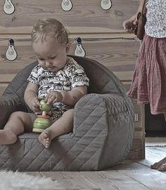 Hvězdičky - pohodlné prošívané sedačka pro dítě www.muzpony.cz www.muzpony.pl www.muzpony.de