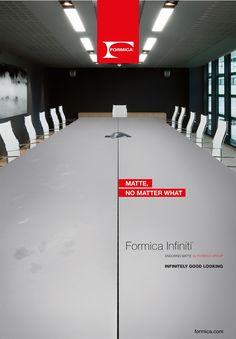 Campaña europea de lanzamiento de Infiniti de Formica Group