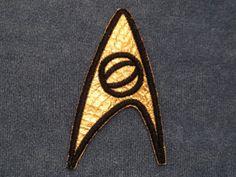 Star Trek: TOS 1st and 2nd Season Starfleet Science Patch @ niftywarehouse.com