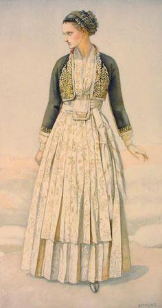 Peasant Woman's Dress (Macedonia, Verroia) 1930