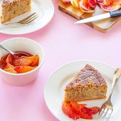 Gluten Free & Sugar Free Blood Orange Cake | Delicious Everyday