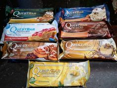 Quest Bar -- The Best Protein Bar On Earth. Low carb, low sugar, clean, high fiber, high protein ❤ love