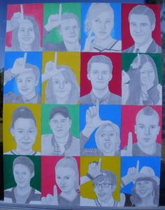My Glee drawing