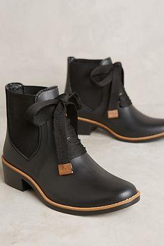 Bernardo Lacey Rain Boots #anthropologie