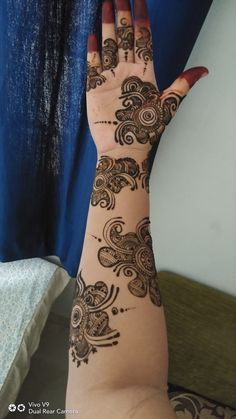 Best 12 Mehndi henna designs are always searchable by Pakistani women and girls. Women, girls and also kids apply henna on their hands, feet and also on neck to look more gorgeous and traditional. Rajasthani Mehndi Designs, Indian Henna Designs, Full Hand Mehndi Designs, Stylish Mehndi Designs, Mehndi Designs For Beginners, Mehndi Designs For Girls, Mehndi Design Photos, Dulhan Mehndi Designs, Latest Mehndi Designs