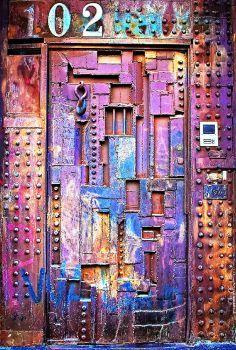 Door ~ Soho, New York, NY, USA (77 pieces)