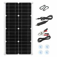 Monocrystaline Solar Panel Kit USB Waterproof Flexible Solar Charger Controller For RV Car Boat 100 Watt Solar Panel, Solar Panel Kits, Solar Panels, Google Vr, Solar Charger, Rc Helicopter, Boats For Sale, Electrical Equipment, Cool Gadgets
