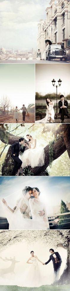 Wedding photography is action of taking photos of wedding. Wedding photography covers photos of the wedding. Check out amazing collection of Wedding photos Pre Wedding Photoshoot, Wedding Poses, Wedding Shoot, Wedding Couples, Korean Wedding Photography, Wedding Photography Inspiration, Couple Photography, Photography Ideas, Photo Couple