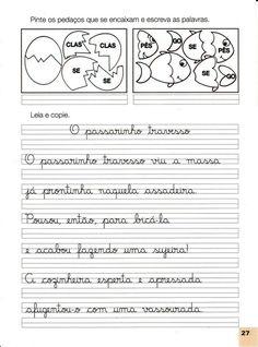 FOLHA DE CALIGRAFIA PARA IMPRIMIR Kids English, Special Needs, Funny Photos, Handwriting, Professor, Homeschool, Study, Classroom, Teacher