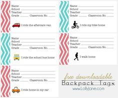 FREE back-to-school backpack tags + tutorial