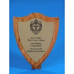Our traditional style wooden shield award is perfect for that more exclusive award. Choose the colour of your engraving plaque or use gold, silver and copper to represent place, place and place respectively. Trophies And Medals, Some Ideas, Laser Engraving, Copper, Traditional, Frame, Inspiration, Beautiful, Wood