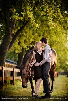 From Marek Dziekonski Photography www.marekd.com Yates cider mill rochester hills Springbrook stables sterling heights engagement session pictures photographer michigan horse7 Congratulations Anne and Andy! | Yates Cider Mill and Springbrook Stables Engagement Session in Rochester Hills
