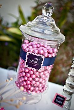 Hostess with the Mostess® - Sweet & Sparkly Candy Buffet