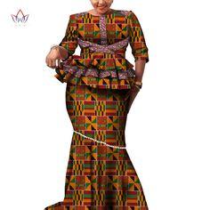African Dashiki Print Dress Crop Tops&Skirt Set Hand Made Off Shoulder Half Sleeve African Women Clothing Long Skirt Set WY2626 african women clothing african dashikidashiki print dress - AliExpress Latest African Fashion Dresses, African Dresses For Women, African Attire, African Women, African Clothes, African Suits, African Print Skirt, African Print Dresses, African Print Fashion