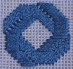 Bargello Needlepoint   ANG: American Needlepoint Guild - Stitch of the Month - January 2008