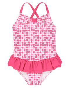 Geo Ruffle One-Piece Swimsuit at Gymboree (Gymboree 3-12y)