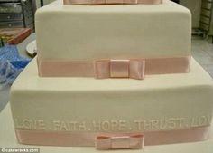 Love, hope, faith, thrust. The pillars of a successful marriage.
