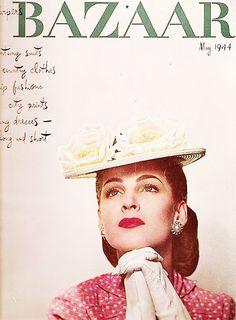 #Harpers Bazaar #Vintage