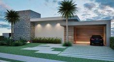 Resultado de imagem para fachadas de casa terrea