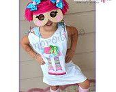 Rag Doll Yarn Hair Mask 1 - In The Hoop -Princess Mask set - Halloween - Mardi Gras - Machine embroidery design applique