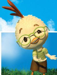 Chicken Little. Disney Animation, Disney Pixar, Walt Disney, Disney Characters, Fictional Characters, Chicken Little Disney, The Sky Is Falling, Ugly Duckling, Him Band