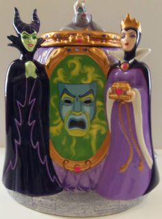 Villains Cookie Jar by Disney Direct