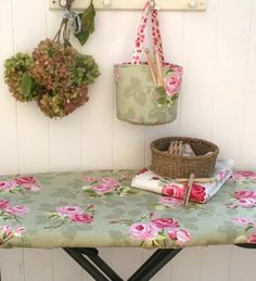 Sage ironing board cover