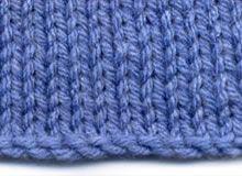 Knitting-on